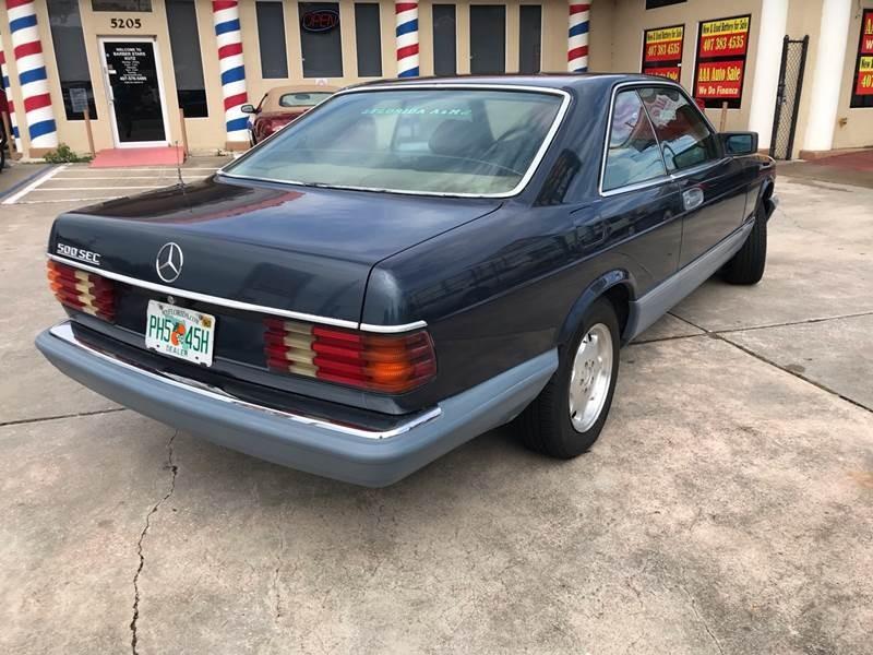 Mercedes-Benz 500-Class 1985 price $4,995
