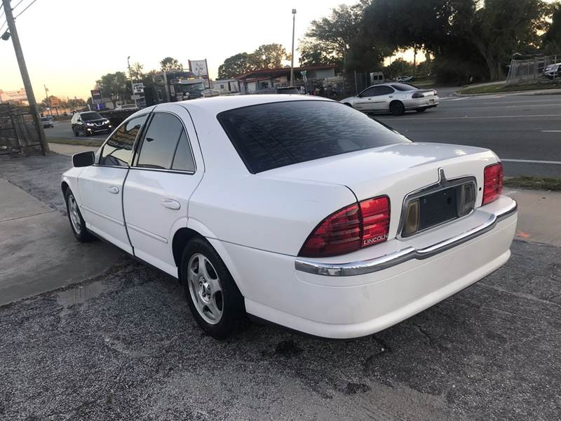 Lincoln LS 2000 price $1,895