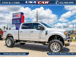 Ford F-250 Lariat 4X4 Lifted 2017