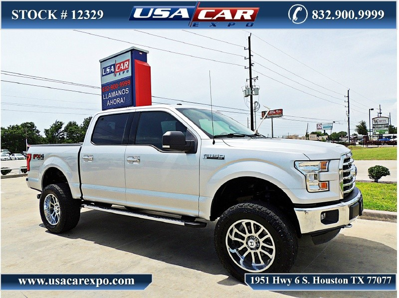 2016 Ford F150 Lifted >> 2016 Ford F 150 4wd Supercrew 145 Xlt