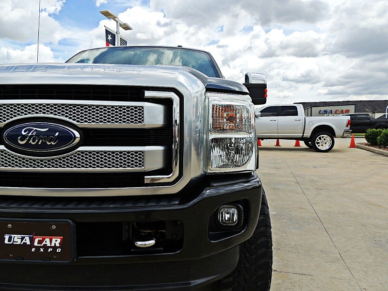 Ford F-250 Platinum 4X4 Lifted 2013 price $40,750