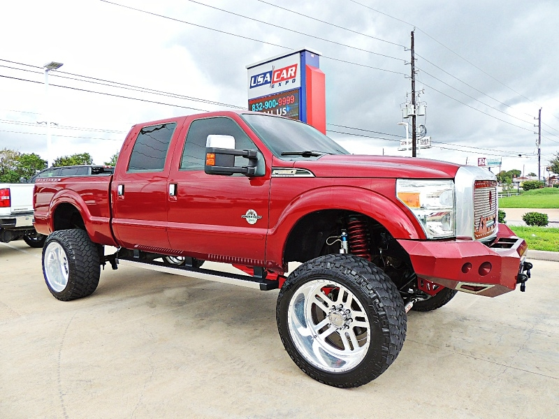 Ford F-250 Platinum 4X4 Lifted 2015 price $46,900