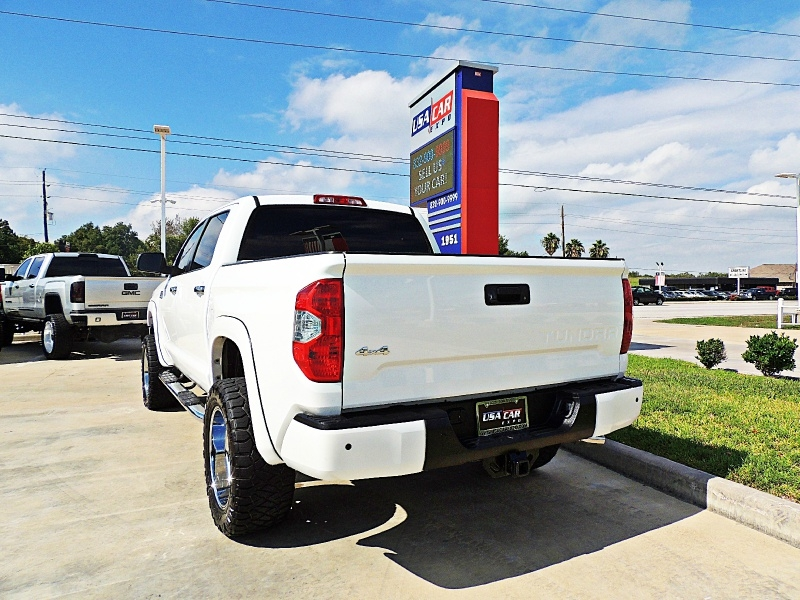 Toyota Tundra 1794 Edition 4X4 Lifted 2017 price $38,900