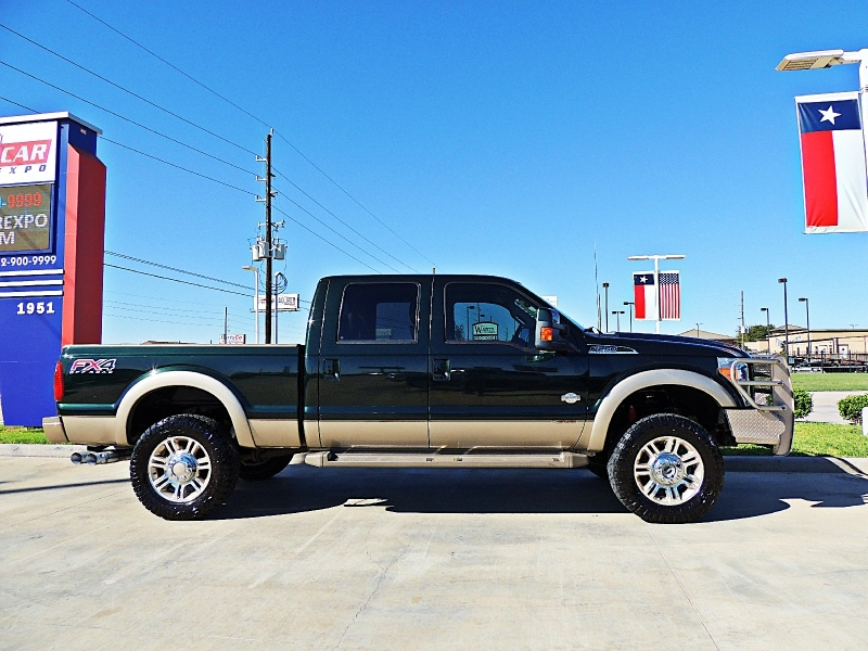 Ford F-250 King Ranch 4X4 2013 price $27,850