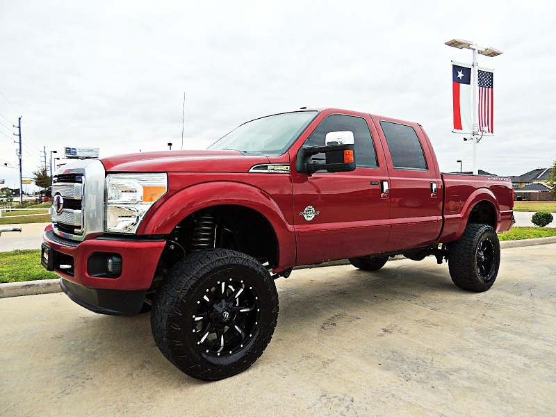 Ford F-250 Platinum 4X4 Lifted 2015 price $44,900