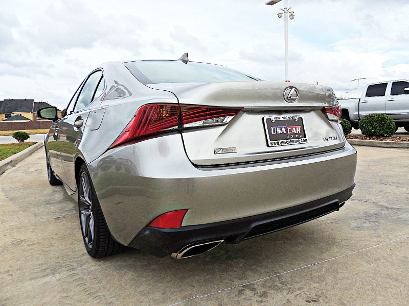 Lexus IS 2018 price $28,900