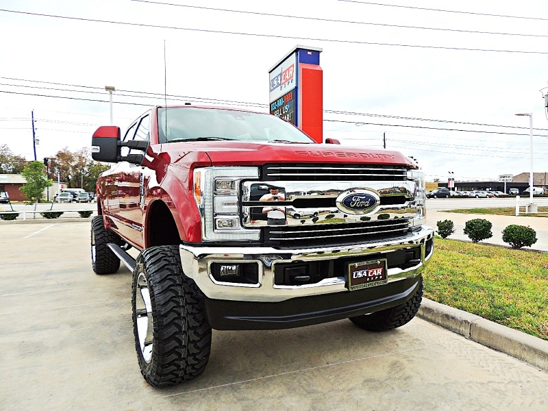 Ford F-250 Lariat 2017 price $57,500