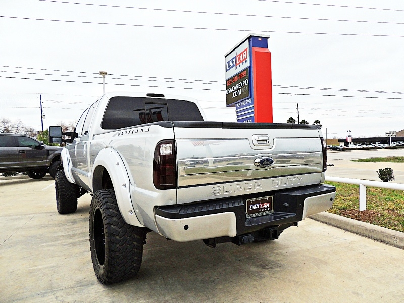 Ford F250 Platinum 4X4 Lifted 2013 price $37,850