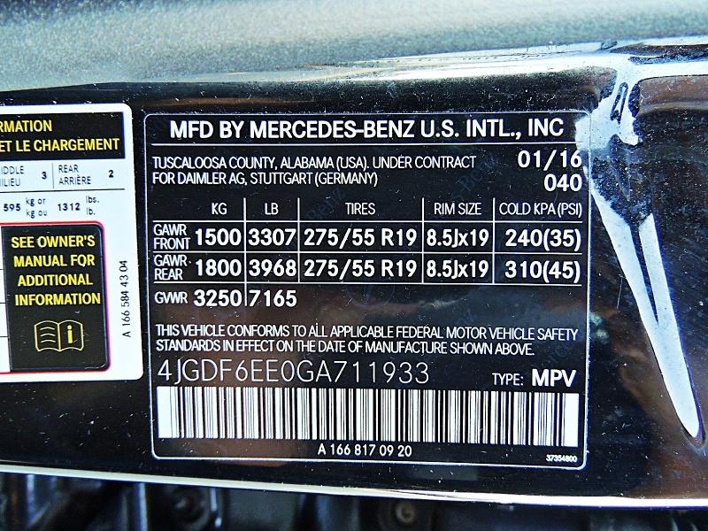 Mercedes-Benz GL450 4Matic 2016 price $27,900