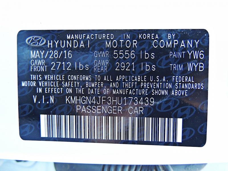 Hyundai Genesis 2017 price $31,900