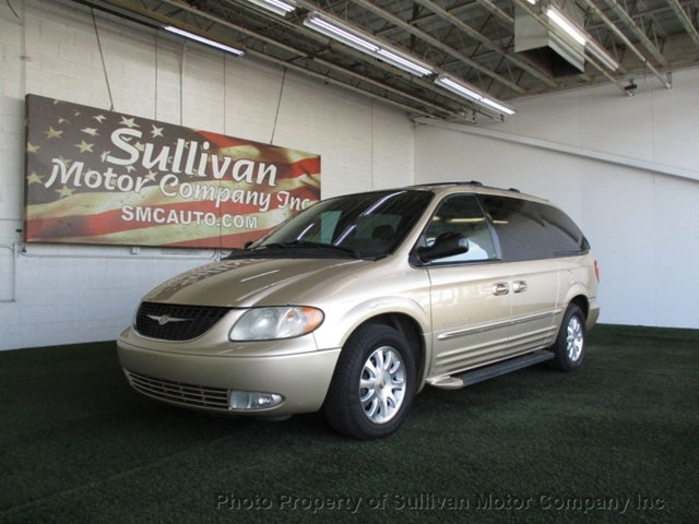 2001 CHRYSLER TOWN & COUNTRY LXI MINIVA