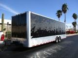 Freedom Trailers Enclosed Car Hauler 2014