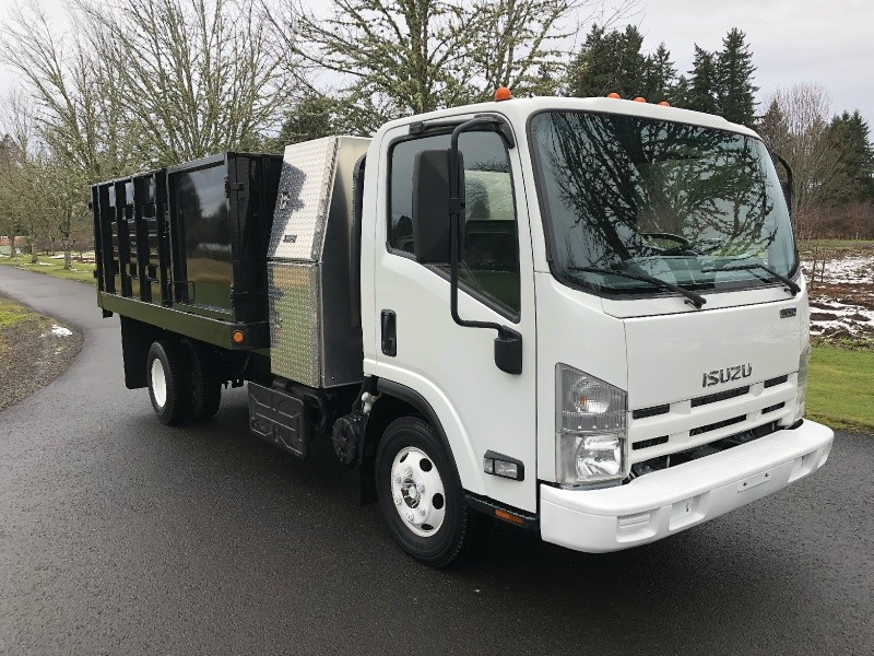 Isuzu NPR HD New 12' Landscape Dump Body 2011 price $43,900