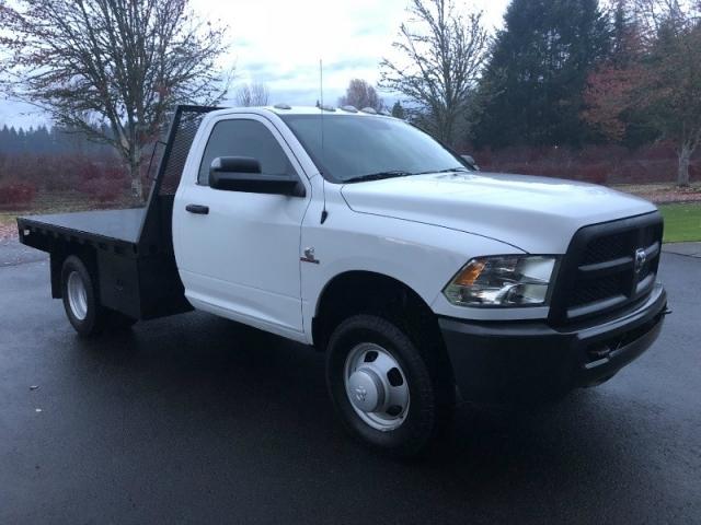 2014 RAM 3500 6.7 Cummins Diesel 9'5 Flatbed 4x4