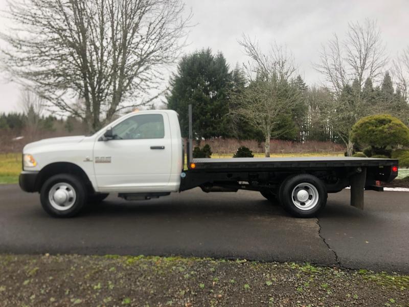 RAM 3500 12' Flatbed 4x4 Cummins Diesel 2013 price $33,900