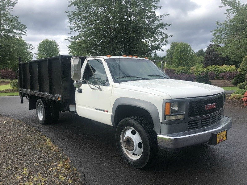 GMC Classic Sierra 3500 HD New Diesel Engine 2001 price $11,900