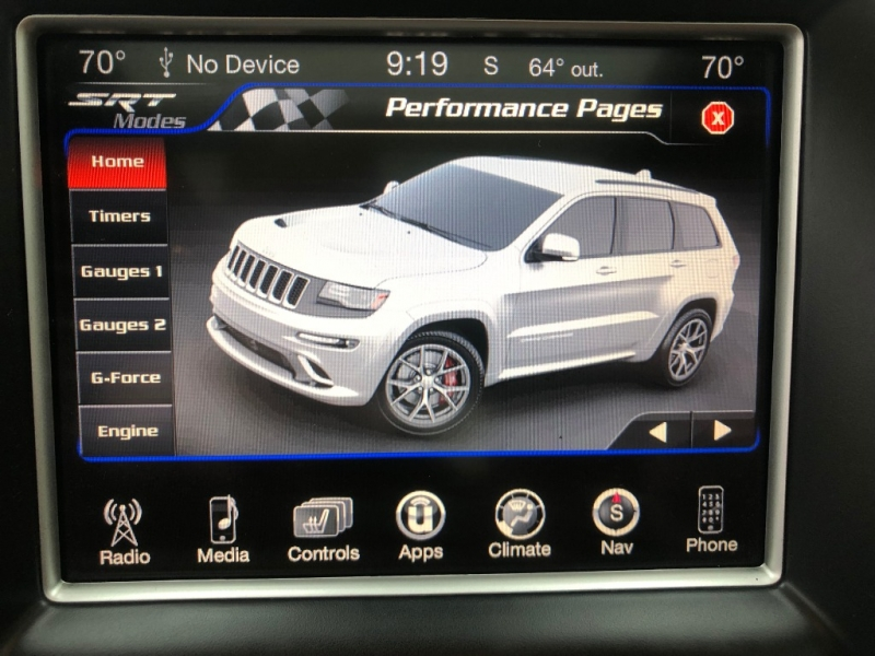 Jeep Grand Cherokee SRT 2016 price $44,450
