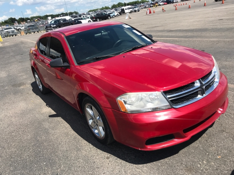 Dodge Avenger 2013 price $3,900
