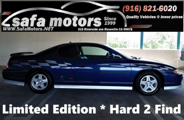 2003 Chevrolet Monte Carlo Ss Limited Edition Coupe Inventory