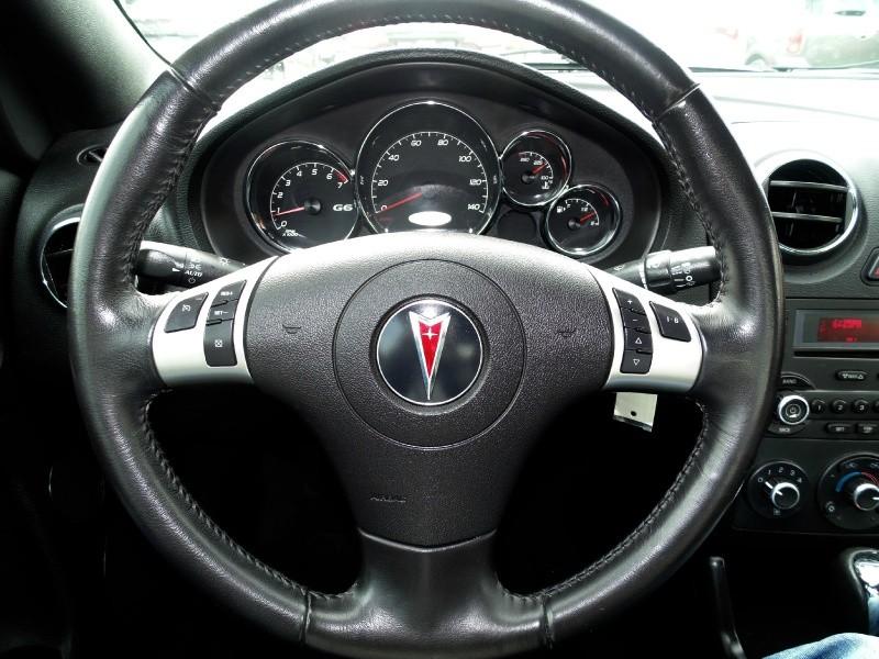 Pontiac G6 Convertible GT 2007 price $6,495