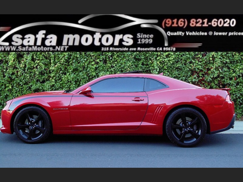 Chevrolet Camaro SS Cpe w/2SS 2014 price $21,550