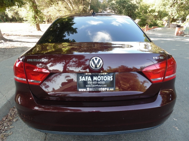 Volkswagen Passat TSI SE 2014 price $10,995