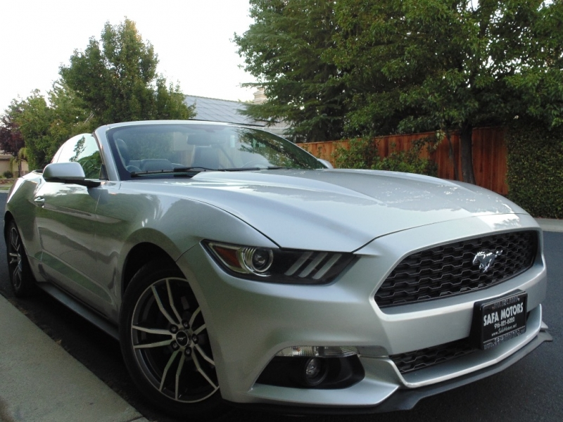 Ford Mustang Conv EcoBoost Premium 2016 price $15,750