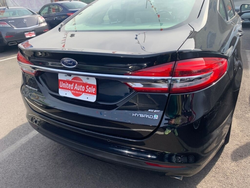 Ford Fusion Hybrid 2018 price $13,500
