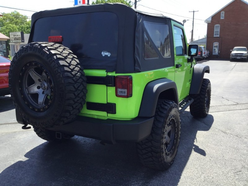Jeep Wrangler 2012 price $18,995