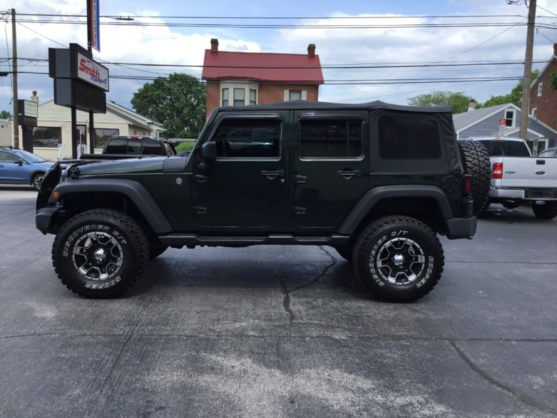 Jeep Wrangler Unlimited 2011 price $17,995