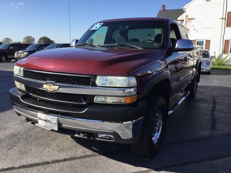 Chevrolet Silverado 2500HD 2002 price $15,995