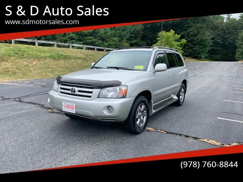 Toyota Highlander 2005 price $6,897
