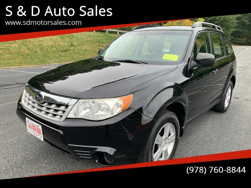 Subaru Forester 2012 price $7,497