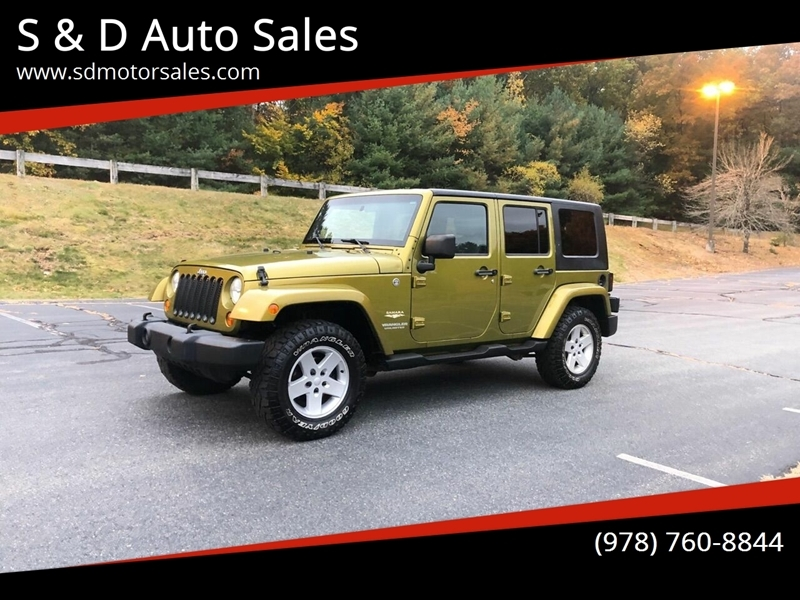 Jeep Wrangler Unlimited 2007 price $11,497