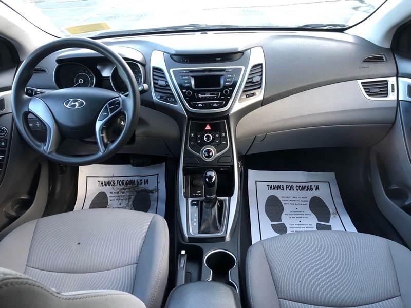 Hyundai Elantra 2016 price $7,497