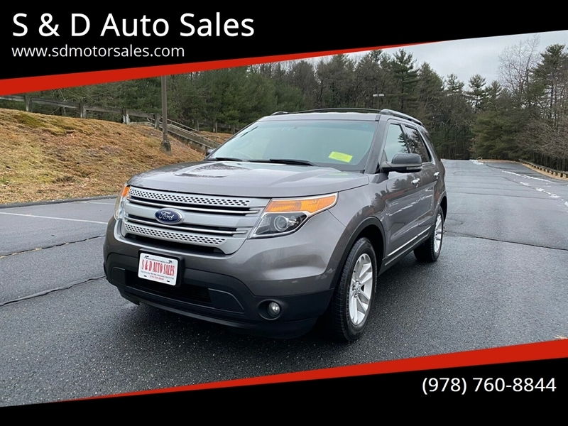Ford Explorer 2013 price $10,997