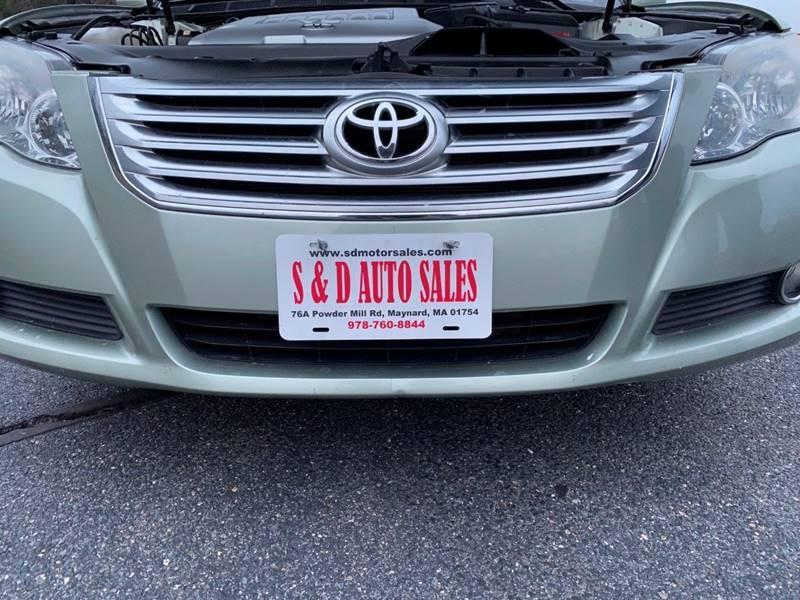 Toyota Avalon 2008 price $6,997