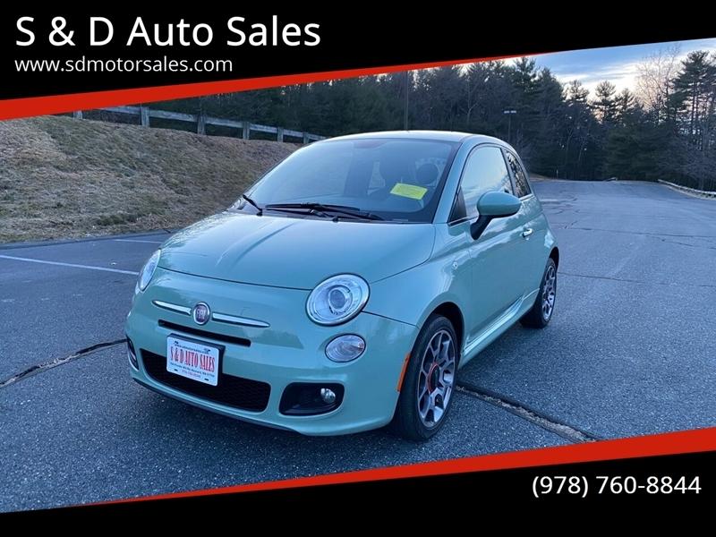 FIAT 500 2012 price $5,197