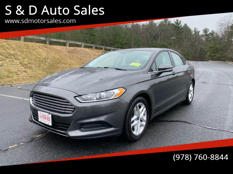 Ford Fusion 2016 price $8,997