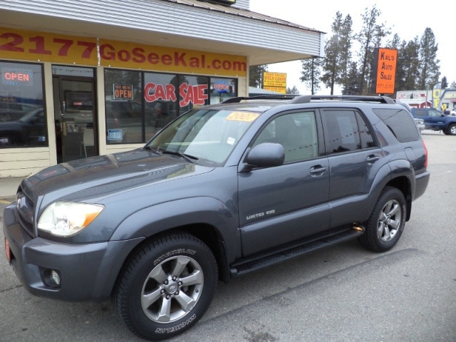 Toyota Runner WD Dr V Limited Inventory Kals Auto - 2007 4runner