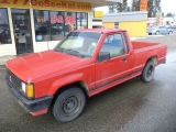 Mitsubishi 2WD Pickups 1989