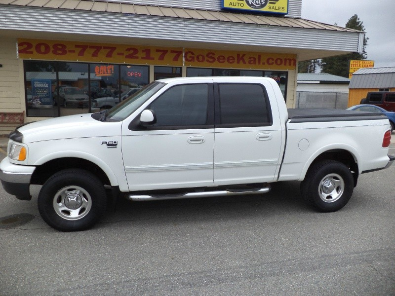 Ford F-150 SuperCrew 2001 price $7,980