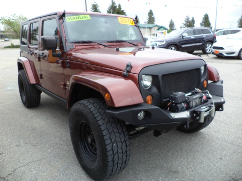 Jeep Wrangler Unlimited 2010 price $21,980