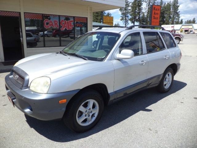 2002 Hyundai Santa Fe GLS Auto 4WD