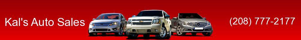 Kal's Auto Sales. (208) 777-2177