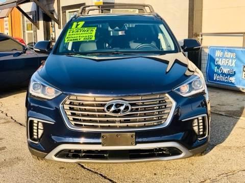 Hyundai Santa Fe 2017 price $19,999
