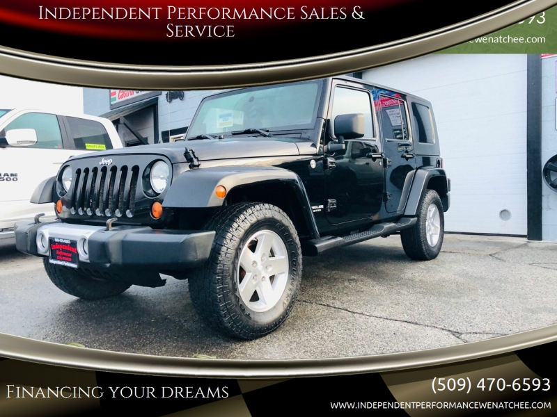 Jeep Wrangler Unlimited 2008 price $14,999