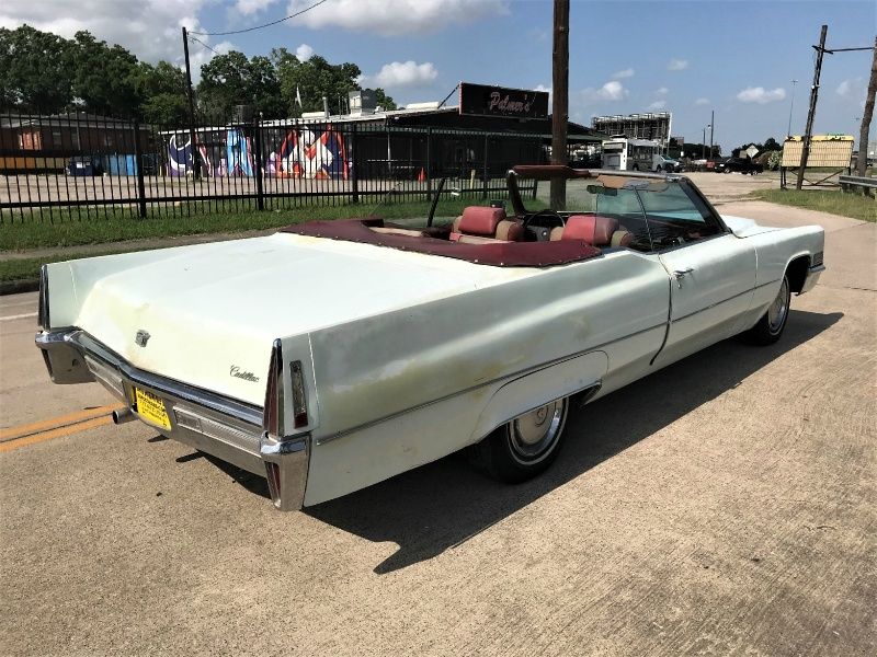 Cadillac DeVille 1970 price $14,990