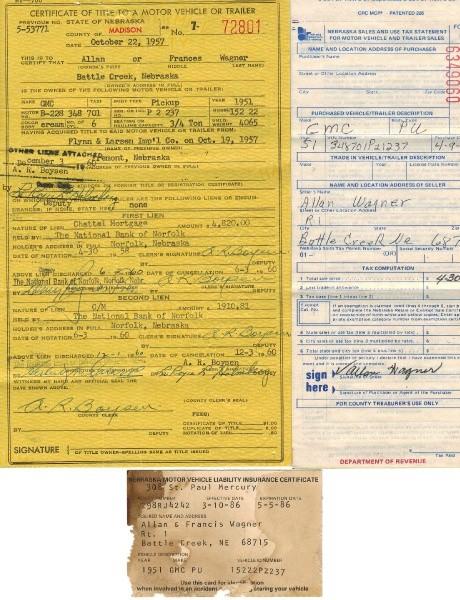 GMC pickup 1951 price $18,990