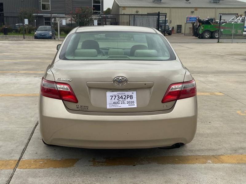 Toyota Camry 2007 price $5,590